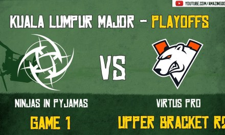 [VODs] NiP vs Virtus Pro | GAME 1 | Kuala Lumpur Major | Playoffs – Upper Bracket R2 | Amazing Dota