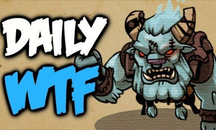 Dota 2 Daily WTF – Oh S**t here we Bash again