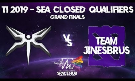 Mineski vs Jinesbrus Game 2 – TI9 SEA Regional Qualifiers: Grand Finals
