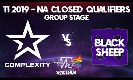 Complexity vs Black Sheep – TI9 NA Regional Qualifiers: Group Stage