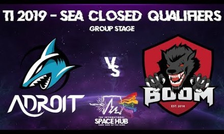 Adroit vs BOOM – TI9 SEA Regional Qualifiers: Group Stage
