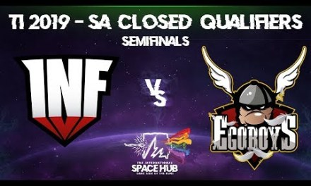 Infamous vs EgoBoys Game 1 – TI9 SA Regional Qualifiers: Semifinals
