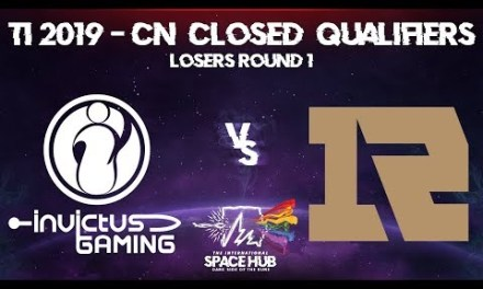 Invictus vs Royal Never Give Up Game 1 – TI9 CN Regional Qualifiers: Losers' Round 1