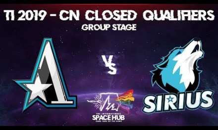 Aster vs Sirius – TI9 CN Regional Qualifiers: Group Stage