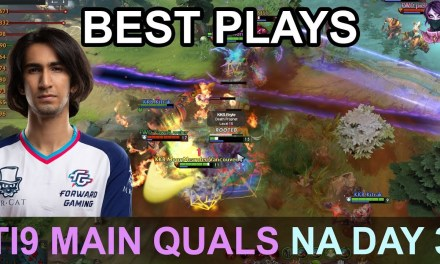 TI9 BEST PLAYS Main Quals NA DAY 3 Highlights Dota 2 by Time 2 Dota #dota2 #ti9