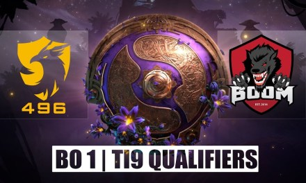 496 vs BOOM ID | Ti9 Qualifiers Groupstage Bo1