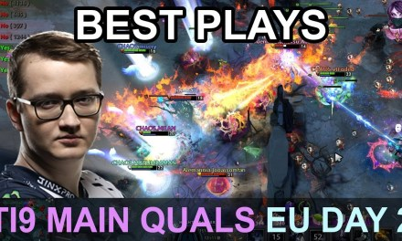 TI9 BEST PLAYS Main Quals EU DAY 2 Highlights Dota 2 by Time 2 Dota #dota2 #ti9