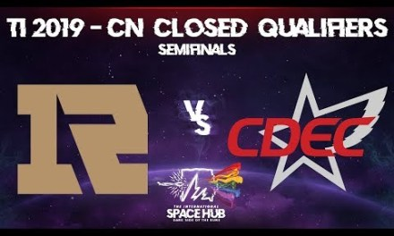 Royal Never Give Up vs CDEC Game 2 – TI9 CN Regional Qualifiers: Semifinals