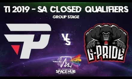 paiN vs Gorillaz-Pride – TI9 SA Regional Qualifiers: Group Stage