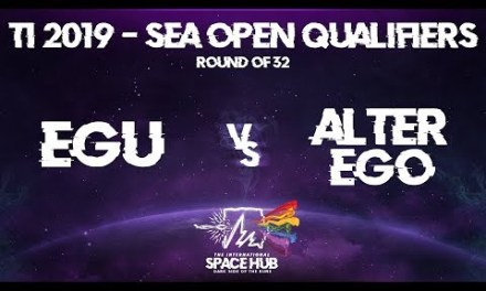 EGU vs Alter Ego – The International 2019 SEA Open Qualifiers: Round of 32