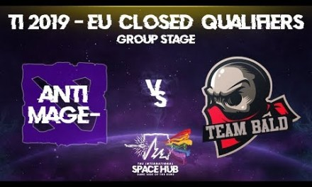 Anti-MagE- vs Bald – TI9 EU Regional Qualifiers: Group Stage