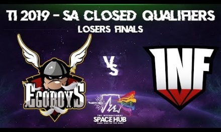 EgoBoys vs Infamous Game 1 – TI9 SA Regional Qualifiers: Losers' Finals