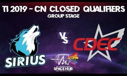 Sirius vs CDEC – TI9 CN Regional Qualifiers: Group Stage