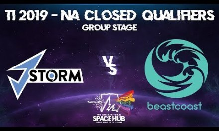 J.Storm vs beastcoast – TI9 EU Regional Qualifiers: Group Stage