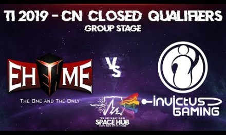 EHOME vs Invictus – TI9 CN Regional Qualifiers: Group Stage