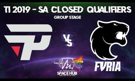 paiN vs FURIA – TI9 SA Regional Qualifiers: Group Stage