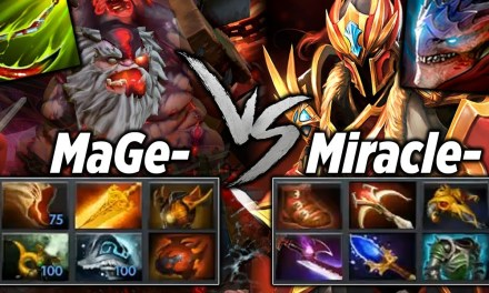 Miracle Dragon Knight vs Mage Pudge [BATTLE FOR HONOR!]