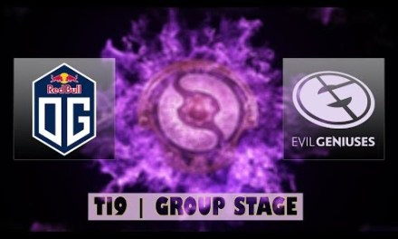 OG vs EG | Ti9 Group Stage Bo2 | LIVE
