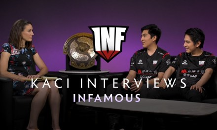 Infamous Interview with Kaci – The International 2019