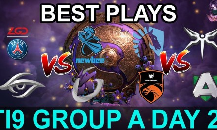 TI9 HIGHLIGHTS Group A DAY 2 PART 1 (The International 9) Dota 2 by Time 2 Dota #dota2 #ti9