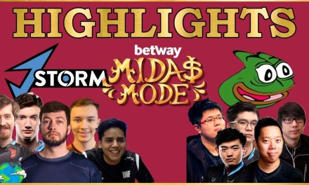 J Storm vs Fighting Pepegas highlights Betway Midas Mode 2