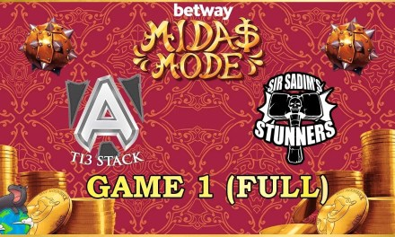 [A]lliance TI3 vs Sir Sadim Stunners Grand Finals Game 1 – Betway Midas Mode 2