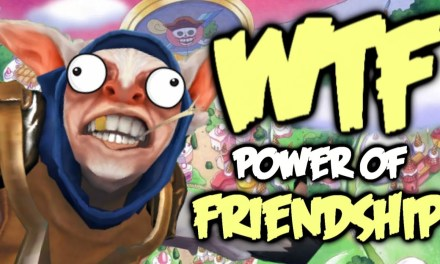 Dota 2 WTF Moments – Power of Friendship Compilation
