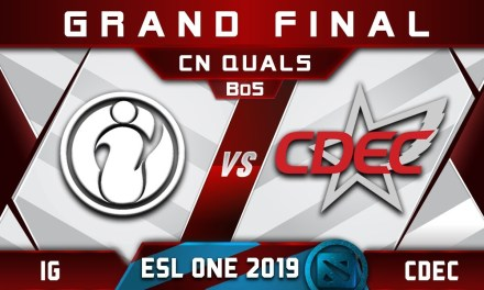 IG vs CDEC Grand Final CN ESL One Hamburg 2019 Highlights Dota 2