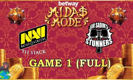 Na'Vi(+Slacks) vs Sir Sadim Stunners Game 1 EU Semi Finals – Betway Midas Mode 2