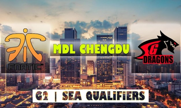 Fnatic vs SGD Game 2 Bo2 | MDL Chengdu Major Qualifiers