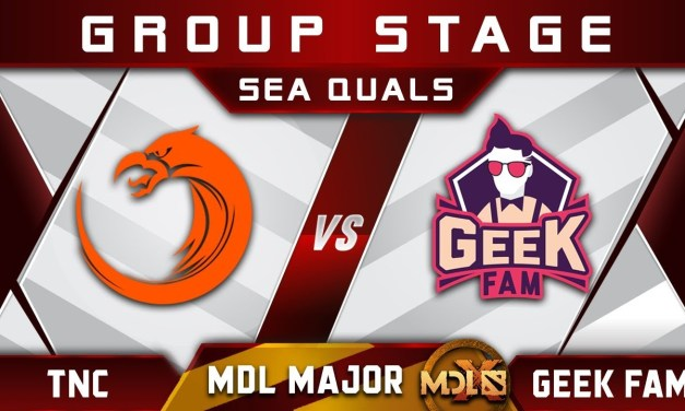 TNC vs Geek Fam MDL Chengdu Major 2019 SEA Highlights Dota 2