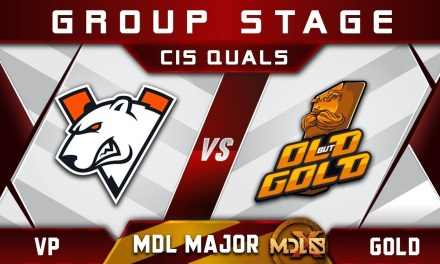 VP vs Old but Gold – NEW Roster Debut! MDL Chengdu Major 2019 CIS Highlights Dota 2