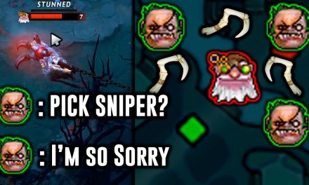 CHORAO PUDGE – Pick Sniper? I'm so sorry.. – 2019 Highlights Dota 2