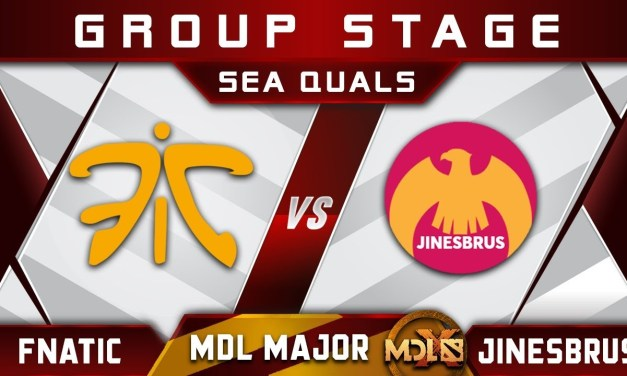 Fnatic vs Jinesbrus – NEW Roster Debut! MDL Chengdu Major 2019 SEA Highlights Dota 2