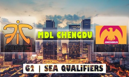 Fnatic vs TJMM Game 2 Bo2 | MDL Chengdu Major Qualifiers