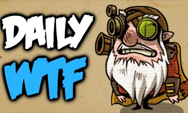Dota 2 Daily WTF – Epic save