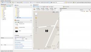 Screenshot vom Tripventure Editor
