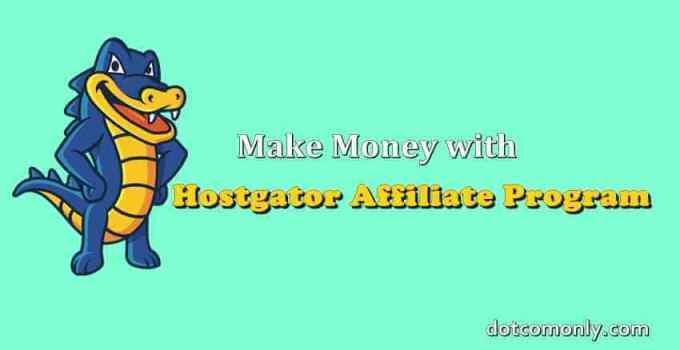 Hostgator India affiliate