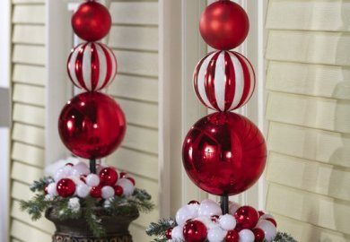 Classy Christmas Decorations Outdoor