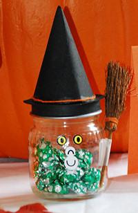 Witch Candy Holder  Halloween Crafts  Dot Com Women