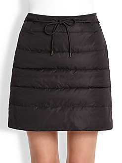 Quilted puffer skirt by Weekend MaxMara