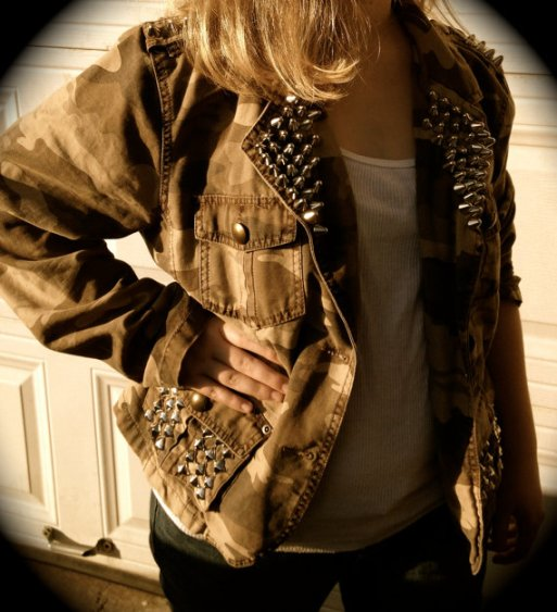 studs and spikes jacket