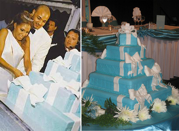 baby blue wedding chair covers air mattress bed celebrity celebrations: over the top themed weddings of stars - dot com women