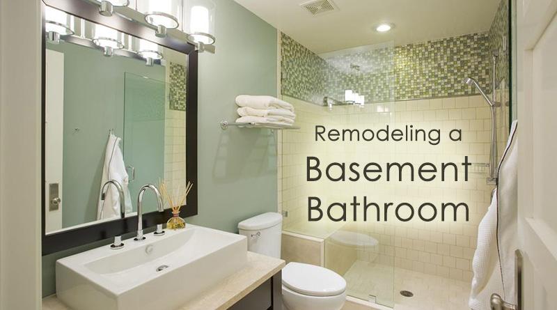 remodeling a basement bathroom: 4 great ideas - dot com women