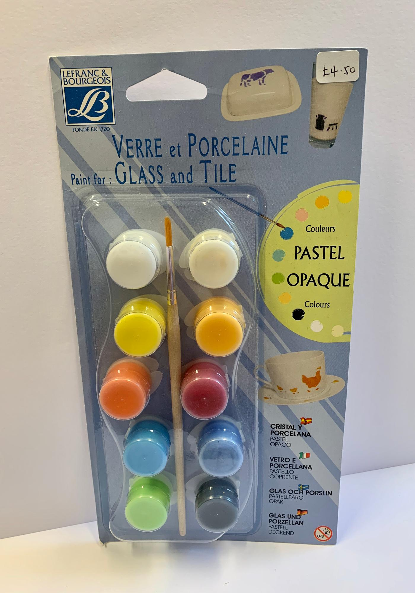 glass and tile paint kit