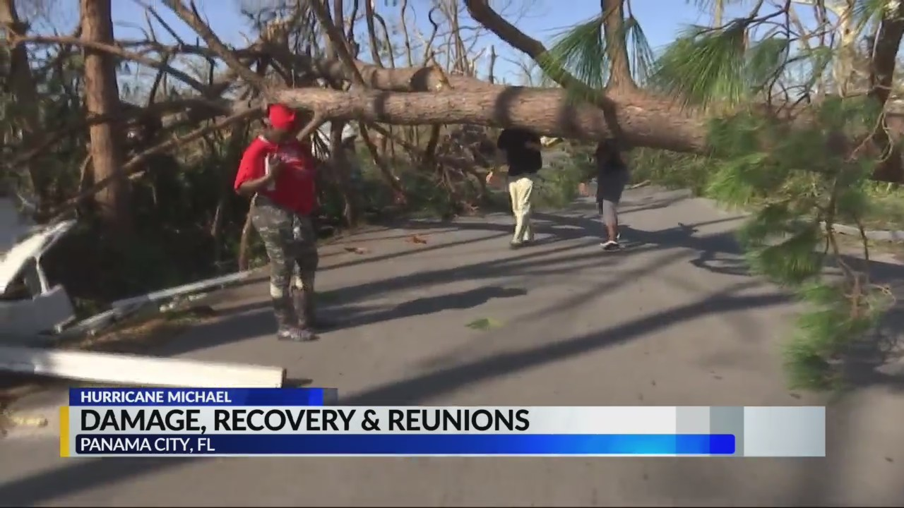 Damage, recovery and reunions after Hurricane Michael