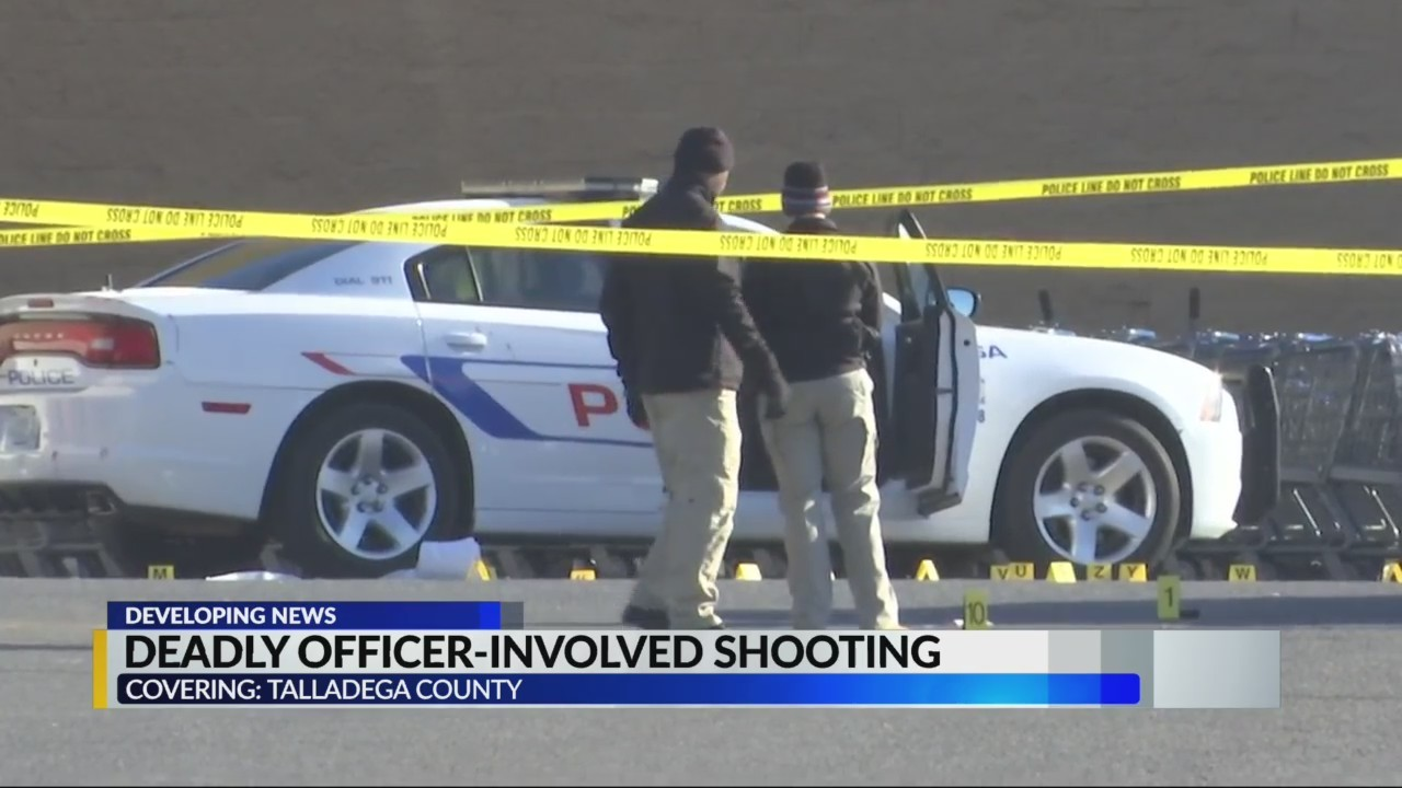 Deadly officer involved shooting in Talladega