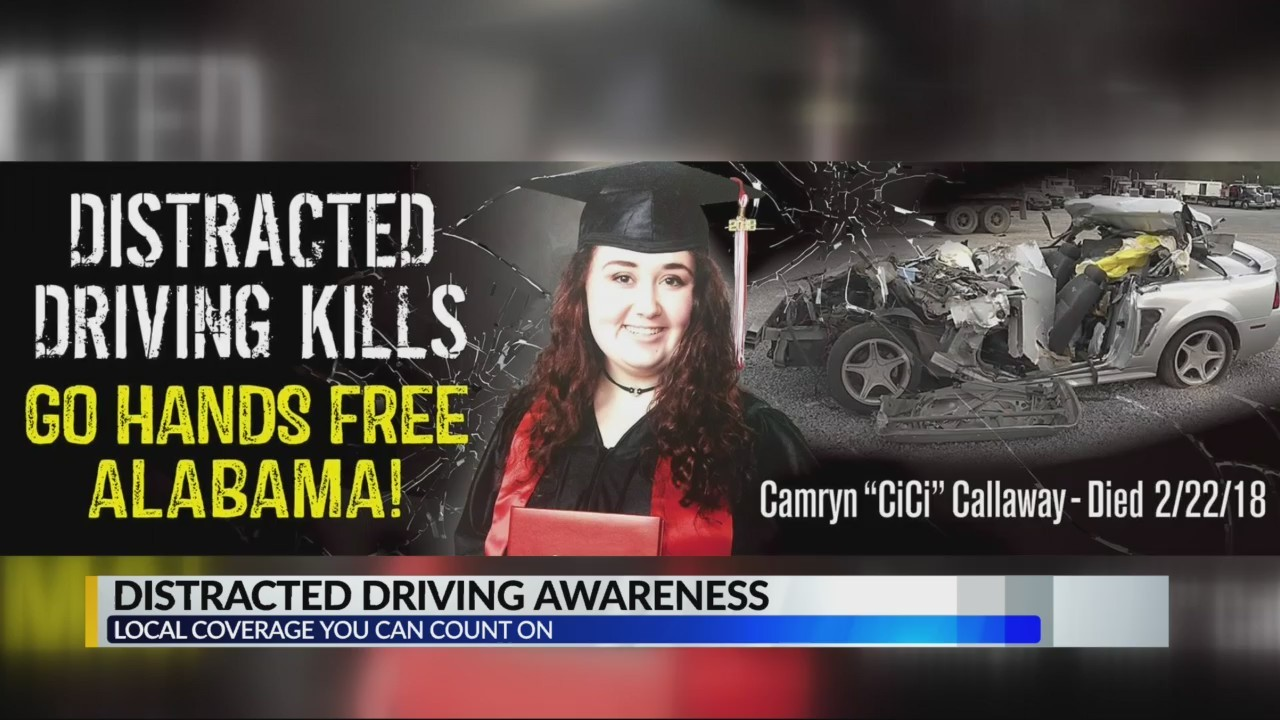 Distracted driving awareness in Alabama