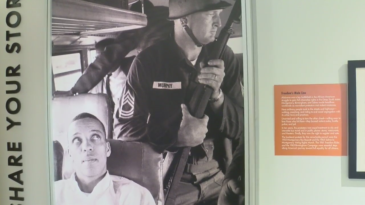 Riding for Freedom, WDHN tours Freedom Rides Museum in Montgomery