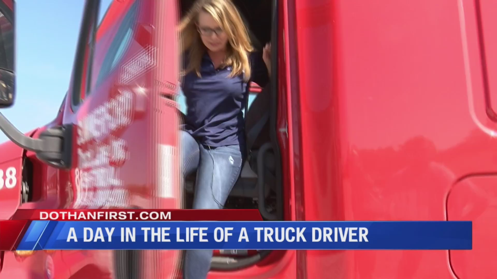 A day in the life of a truck driver at Summerford Truck Line